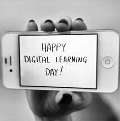 It's Digital Learning Day! #tech
