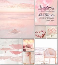 ❧ Collages de photos ❧ moodboard dreamy pink by AT