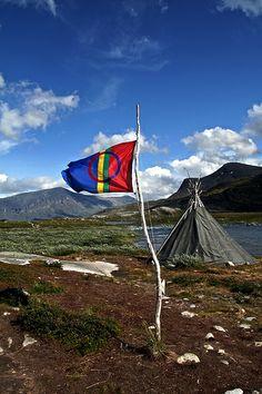 Sami flag!