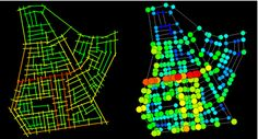 Axial and Junction Analysis Map GIS and Space Syntax: An Analysis of Accessibility to Urban Green Areas in Doha District of Dammam Metropolitan Area, Saudi Arabia. University Of Colorado Denver, Spatial Analysis, Urban Analysis, Human Behavior, Space Architecture, Create And Craft, Urban Planning, Saudi Arabia, Diagram