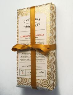 Dandelion Chocolate Designed by Caleb Owen Everitt, and Anthony Ryan