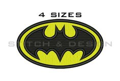 BATMAN EMBROIDERY Design Batman Logo Design Batman Logo Batman Fill Embroidery Batman Machine Embroidery Designs Batman Fill Design No:32