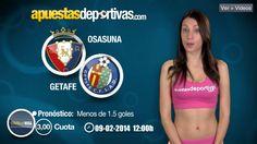 Pronóstico para el duelo entre Osasuna y Getafe en nuestro videoblog de esta semana #LigaBBVA
