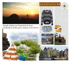 """Backpackers' style"" by cherry95 ❤ liked on Polyvore featuring Oris, Grafea, Pier 1 Imports, ...Lost and Timberland"