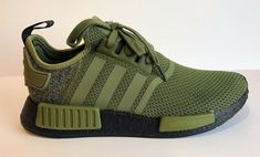 054c735d8 (eBay Sponsored) adidas Originals NMD R1 AQ1246 Olive Green Black US Europe  Exclusive