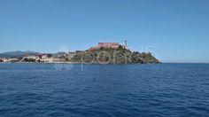 View Of Fort Stella, Portoferraio, Elba Island - Stock Footage | by eZeePicsStudio