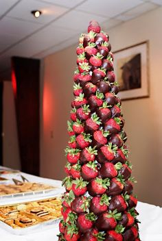 strawberry chocolate trees - Google Search