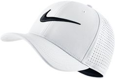 This men's Nike cap was made to win. With Dri-FIT technology, it elevates you to the next level. PRODUCT FEATURES Large Nike swoosh Dri-FIT Curved bill One size fits all Polyester Machine wash Imported