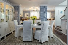 decorate dining room chairs covers ideas