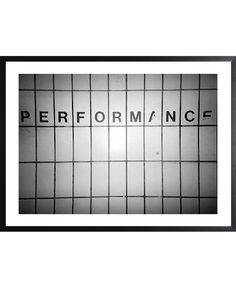 Performance black