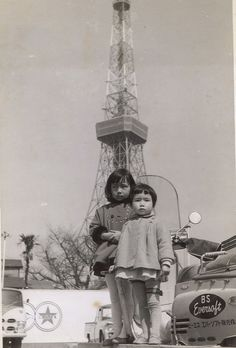 tokyo tower 1960