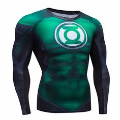 We all know that how you look affects how you feel, so why not feel like a superhero while doing your favorite sport activity or simply be unique wearing this shirt? It's designed to keep your muscles
