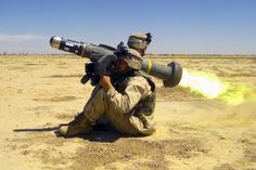 A soldier from the US Marine Corps (USMC) launches a FGM-148 Javelin anti-tank missile. - Image - Army Technology