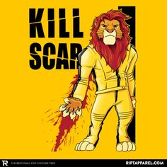 ''Kill Scar'' by Andriu available today only, 6/24/17, at RIPT Apparel