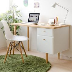 Home Office Setup, Home Office Space, Home Office Desks, Study Room Decor, Cute Room Decor, Bedroom Decor, Small Room Desk, Study Table Designs, Diy Rangement