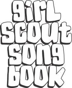 Make a Girl Scout Song Book. Make a song book and share it at your next event. Perfect for Cadette Girl Scout Ways badge. Free printable available at MakingFriends.com
