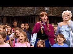 ▶ Frozen's 'Let it Go' Sing Along Performed by Kids at Walt Disney World Resort [HD] - YouTube