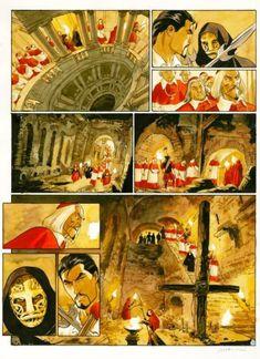 Le Scorpion T3 - P39 by Enrico Marini, Stephen Desberg - Comic Strip