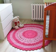 Handmade rug. $312 Carpet, Kids Rugs, Crochet, Diy, Handmade, Inspiration, Home Decor, Biblical Inspiration, Hand Made