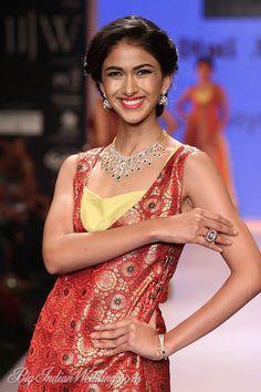 Dipti Amisha diamond mesh necklace