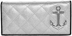 Lux de Ville Bon Voyage Wallet (Silver Sparkle) Lux De Ville…