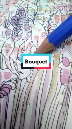 Litca(@litca.art) on TikTok: Bouquet #art #bouquet #10kartist #dibujo #color #artist #sketchbook #draw #illustration #parati #love Artist Sketchbook, Bouquet, Draw, Colors, Illustration, Artwork, Design, Dibujo, Work Of Art