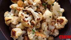 Talk Chow: Easy Roasted Cauliflower - The Talk - CBS.com
