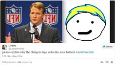 Find out how the NFL Commissioner's live Twitter session went wrong. At least he was a good sport about it!