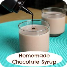 Homemade Chocolate Syrup | 52 Kitchen Adventures