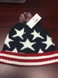 Baseball American USA Flag Beanie Cap Hat Men /& Women Knit Hats Stretchy /& Soft Beanie