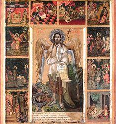Διονύσιος ο εκ Φουρνά-Άγιος Ιωάννης ο Πρόδρομος και σκηνές του βιβλίου του, 1711