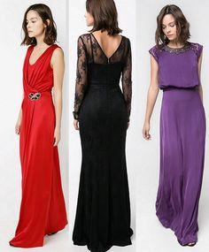 Vestidos para ser la invitada perfecta en toda boda. #boda #invitada #vestido #largo #estilo #mujer
