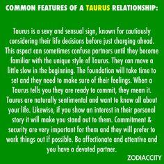 The Taurus relationship