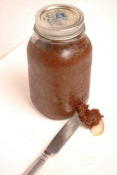Crock pot apple butter.  Make half batch.  Possible #gift #giving idea.