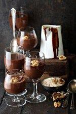 Dark Chocolate Oat Pudding