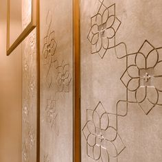 Pooja Room Door Design, Main Door Design, Wall Decor Design, Wardrobe Door Designs, Wardrobe Design Bedroom, Bedroom Cupboard Designs, Living Room Designs, Wall Cladding, Wall Panelling