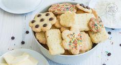 Einfache, schnelle 3-Zutaten-Kekse ohne Ei