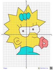 character coordinate graphing - other things too. It creates it for you. Graphing Worksheets, Graphing Activities, Plot Graph, Basic Geometry, Graph Paper Art, 8th Grade Math, Math Projects, Math Art, Math Lessons