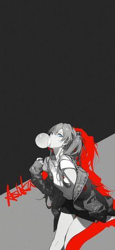 Chica Anime Manga, Otaku Anime, Kawaii Anime Girl, Anime Art Girl, Manga Illustration, Character Illustration, Asuka Langley Soryu, Cyberpunk Art, Neon Genesis Evangelion