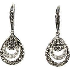 Judith Jack - Mirror Image Drop Earrings   Zappos