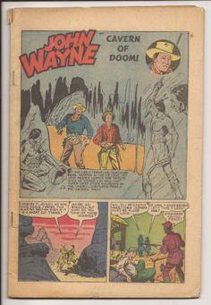 JOHN WAYNE ADVENTURE COMICS John Wayne, Iowa, Angeles, Cowboy Up, Old Movie Stars, Johnny Was, Old Boys, Old Movies, Good Old