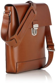 Ferragamo Messenger in Brown for Men (Brandy)   Lyst Men Bags, Leather Bags 7a79cbed05