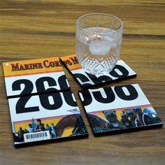 Commemorate a special race with our BibCOASTERS Your Race Bib on Set of 4 Coasters - Glossy Tile Coasters. Your race number is reproduced on our set of four glossy tile coaster. These coasters make a unique gift for your favorite runner! Running Bibs, Race Party, Race Bibs, Gifts For Runners, Running Inspiration, Fitness Gifts, Tile Coasters, Photo On Wood, Diy Craft Projects