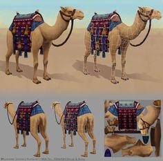 Low Poly Camel (1904 tris)