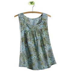 Sleeveless Batik Print Top - Women's Clothing, Jewelry, Fashion Accessories and Gifts for Women with a Flair of the Outdoors | NorthStyle