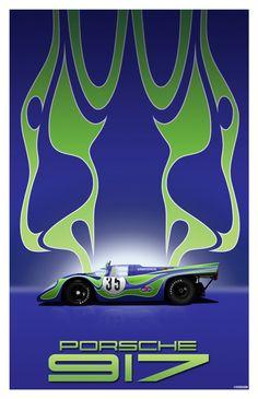 """Porsche 917K """"Hippie"""" #35"""