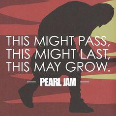 Pendulum. #PearlJam