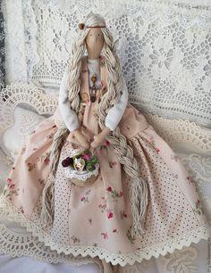 Купить Кукла Тильда в стиле прованс - бежевый, тильда, кукла Тильда, кукла ручной работы ☆