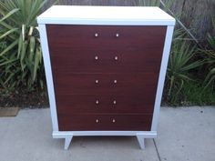 Los Angeles: MID CENTURY Modern HIGHBOY DRESSER $350 - http://furnishlyst.com/listings/31327