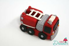 Hey, I found this really awesome Etsy listing at https://www.etsy.com/listing/204472073/fondant-fire-truck-cake-topper